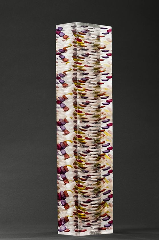 Column | Katja Gruetter glass