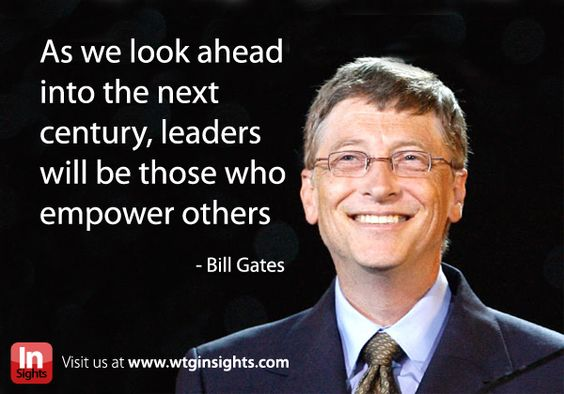 bill gates situational leadership Although many prescriptive leadership models have been proposed, the situational leadership model (slm) (hersey & blanchard 1969 1977 1982 1988) bill gates, the.