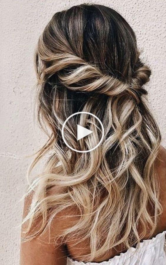 Belle Coiffure De Mariage Et Demoiselles D Honneur Coiffures Simple Prom Hair Prom Hairstyles For Long Hair Hair Styles
