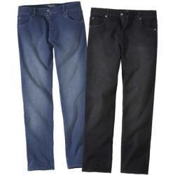 Reduzierte Herrenjeans 2er Pack Regular Jeans mit Stretch