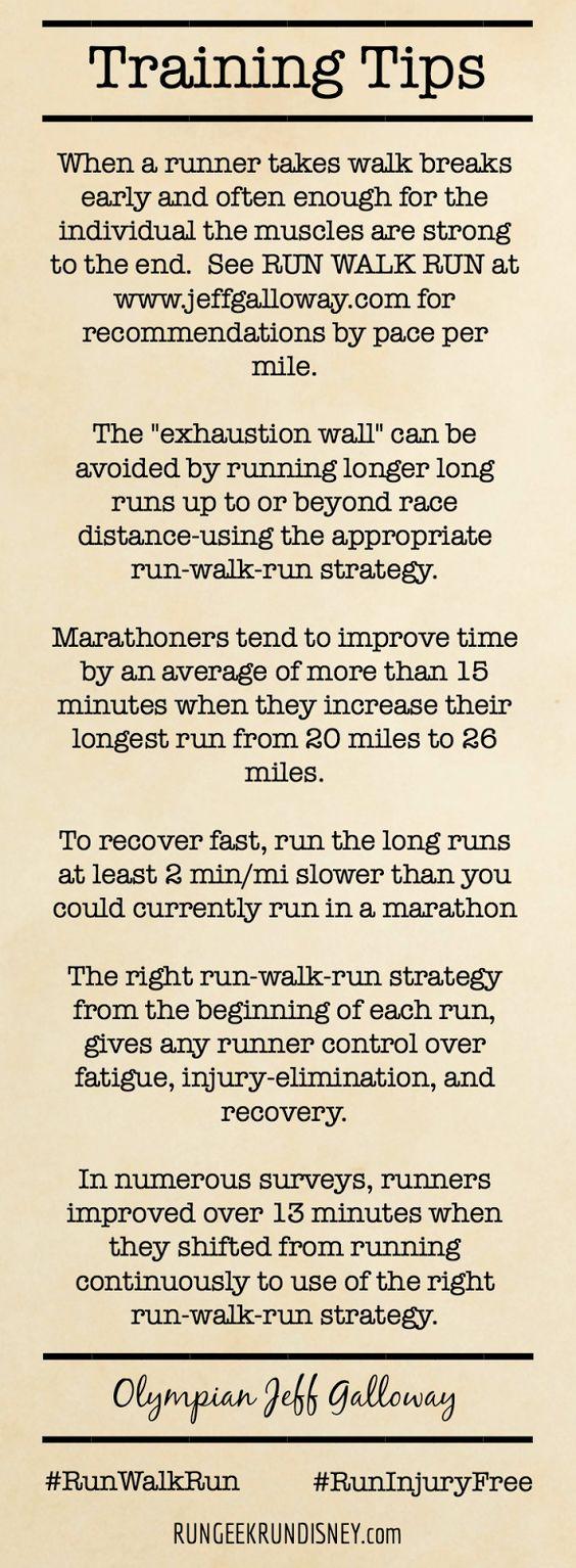 Jeff Galloway Training and Motivation Tips #2 ~ run. geek. run(disney)