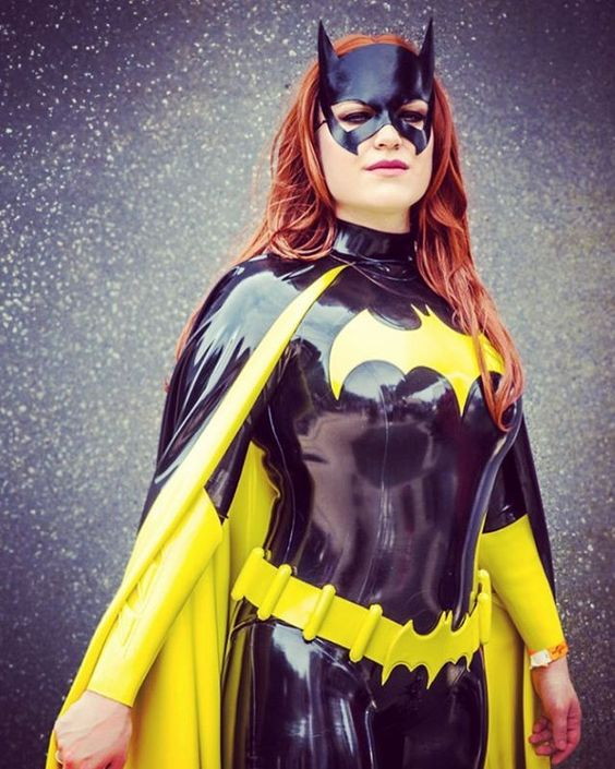 Latex Batgirl
