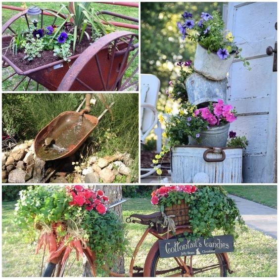 Gartendeko rost rost deko garten gatendeko ideen for Gartengestaltung deko