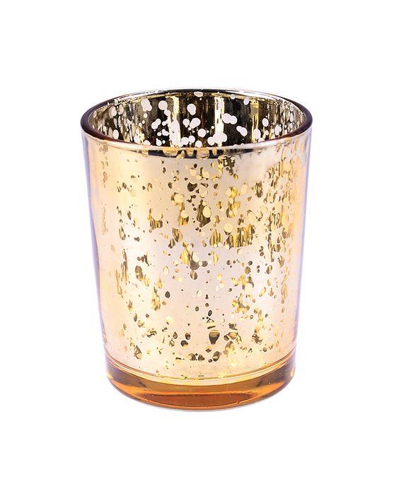 Edles Teelicht-Glas.
