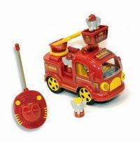 Le camion de pompiers Babar, Lansay - Cadeaux de Noël - Voici un camion de pompier radiocommandé conçu pour les enfants dès 2 ans ! Babar en est le héros. A vos échelles ! Le camion de pompiers Babar, Lansay : 19,99 €