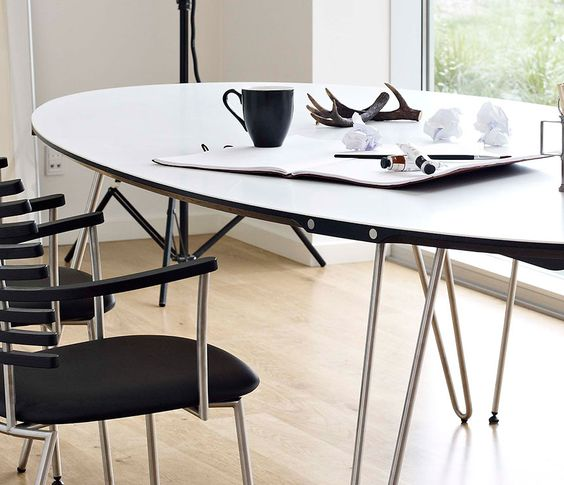 DM6650 series dining table - in Corian!