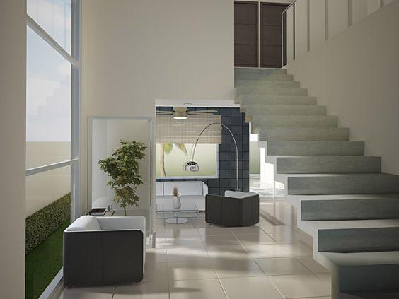 Decoraci n minimalista y contempor nea interiores for Decoracion contemporanea interiores