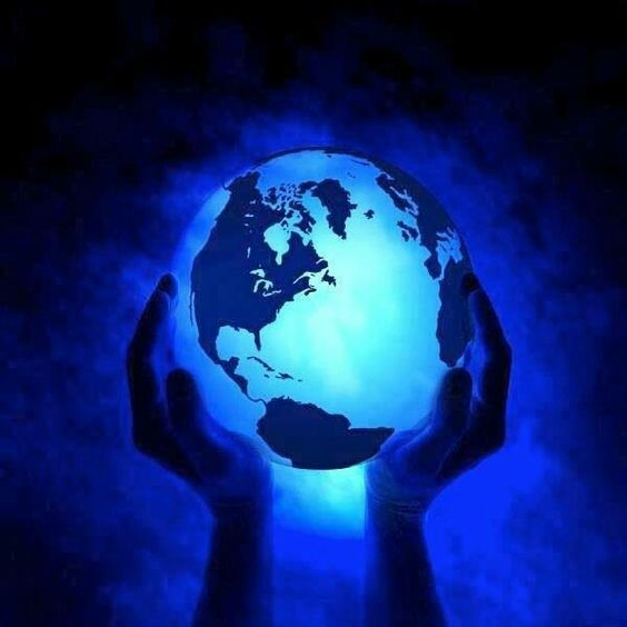 Our blue world