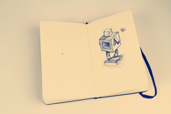 Drawing Machines by Oscar Llorens on Behance | Sketchs | Draw | Drawing | Illustrations | Ilustração | Desenho | Rascunho | Pen | Pencil |