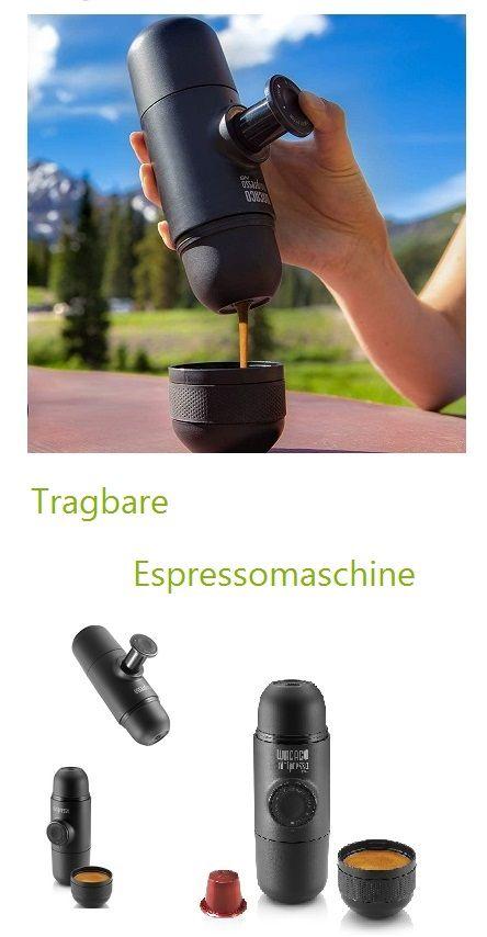 Kompatibel mit NS-KAPSELN*, bei denen der Kaffee mit hoher Präzision gemahlen, abgemessen und gepresst wird, die Fehlerquote ist also sehr niedrig. Es ist praktisch, problemlos und nach Gebrauch einfacher zu reinigen. [NUR MANUELLE BEDIENUNG] Legen Sie eine kompatible Kapsel in die Kapselhalterung. Geben Sie heißes Wasser in den Wassertank und entriegeln Sie den Kolben. Halten Sie die Minipresso mit zwei Händen fest und pumpen Sie langsam, um Druck zu erzeugen und... *Pin enthält Werbelinks
