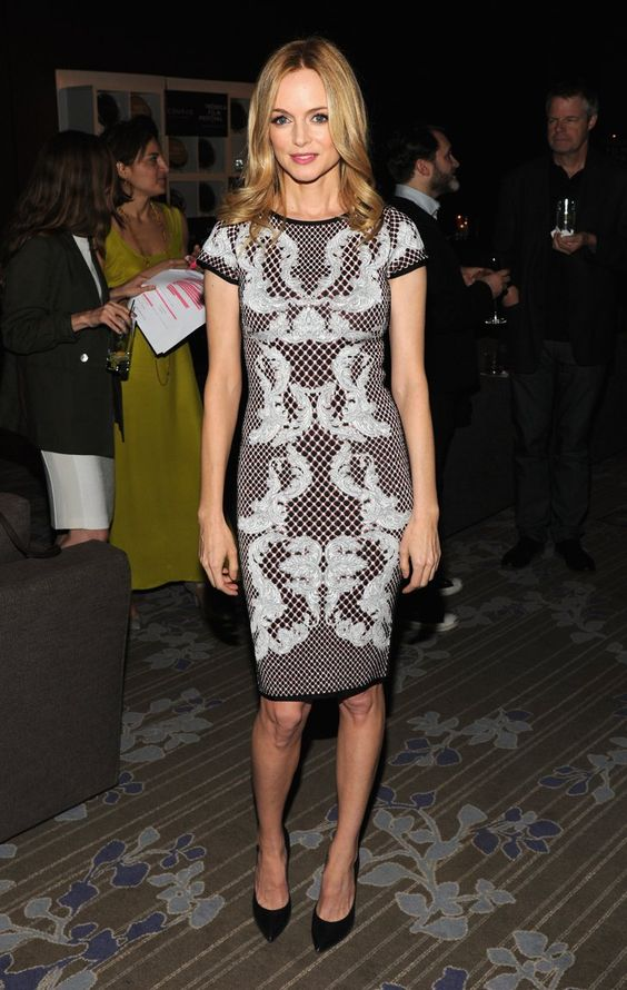 Pin for Later: Michelle Williams's Dress Is Just One of Her Job's Many Perks Heather Graham Heather Graham at the Tribeca Film Festival awards ceremony.
