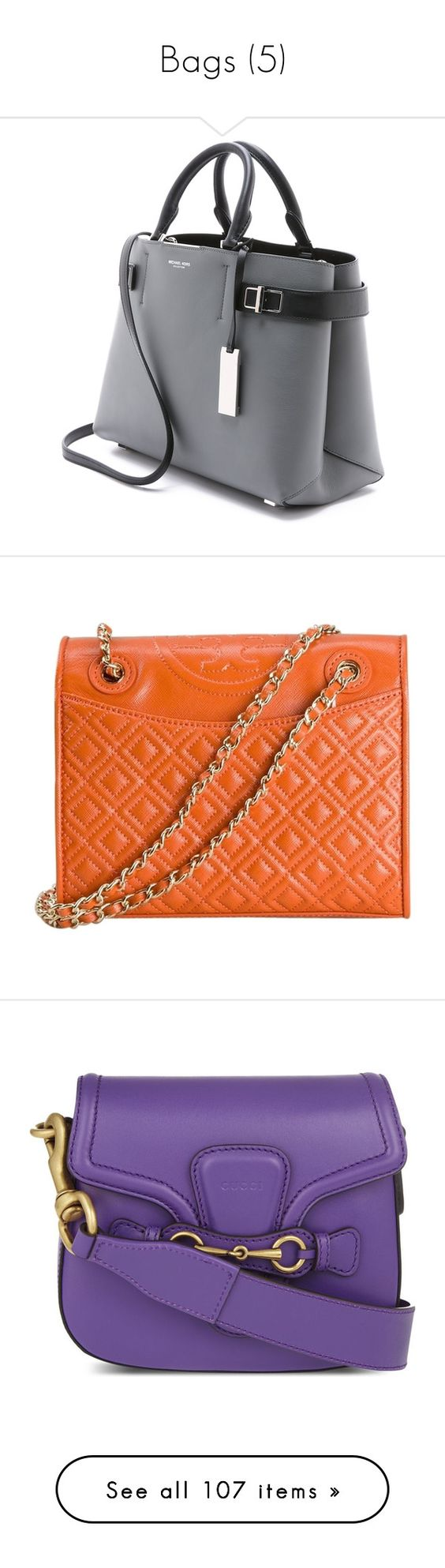 """Bags (5)"" by geniusmermaid ❤ liked on Polyvore featuring bags, handbags, bolsas, accessories, purses, handbag purse, genuine leather handbags, leather satchel purse, leather handbags and genuine leather purse"