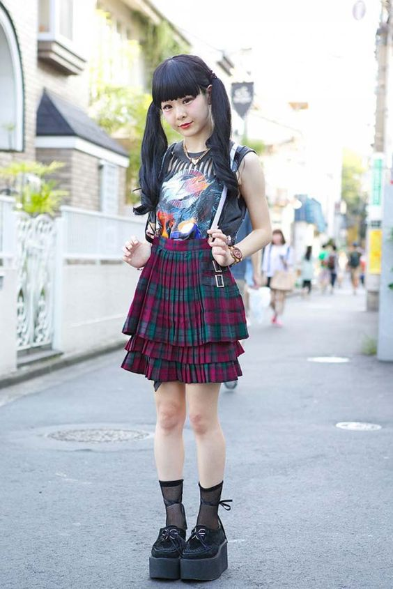 Harajuku Tokyo Fashion Harajuku Street Style Photo From Tokyo Fashion Unique Pinterest