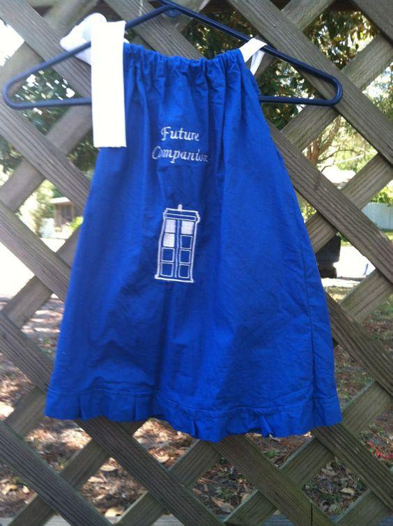 Doctor Who inspired TARDIS Future Companion by NerdvanaMama, $20.00