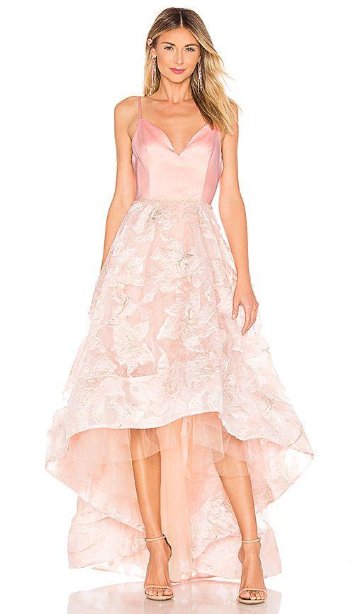 Bronx And Banco Alexia Gown In Blush Gowns Fashion Fashion