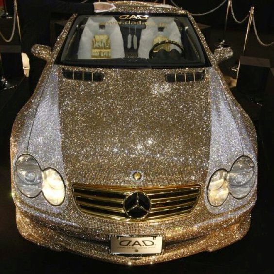 I really don't know what to say..................... #blingbling #toomuch #reezocar