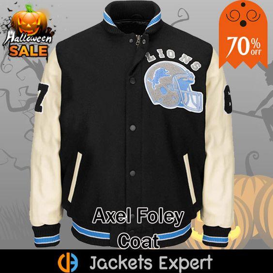 Eddie Murphy Beverly Hills Cop Detroit Lions Jacket Jackets Axel Foley Foley