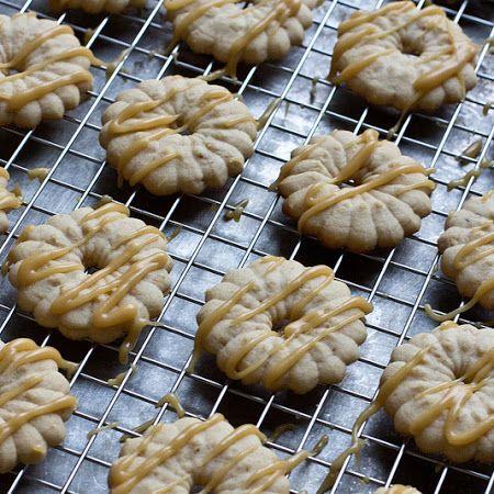 Caramel Macchiato Spritz Cookies