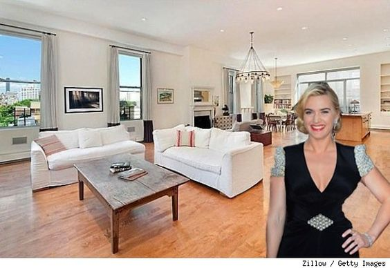 Rent Kate Winslet's NYC duplex penthouse! See more photos http://realestate.aol.com/blog/2012/08/20/kate-winslets-nyc-penthouse-for-rent-house-of-the-day/