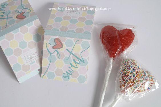 Diys no ñoños para San Valentín, craft, handmade.Diseño gráfico de H A B I T A N 2 http://habitandos.blogspot.co…