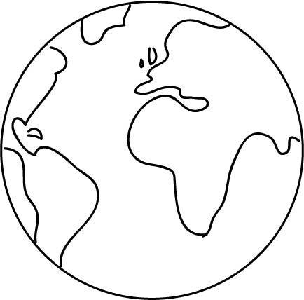 wereldbol simpel zoeken knutsel