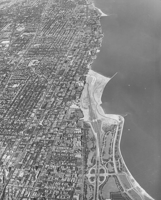 Aerial Shot Of The North Lakefront Including The Current Location