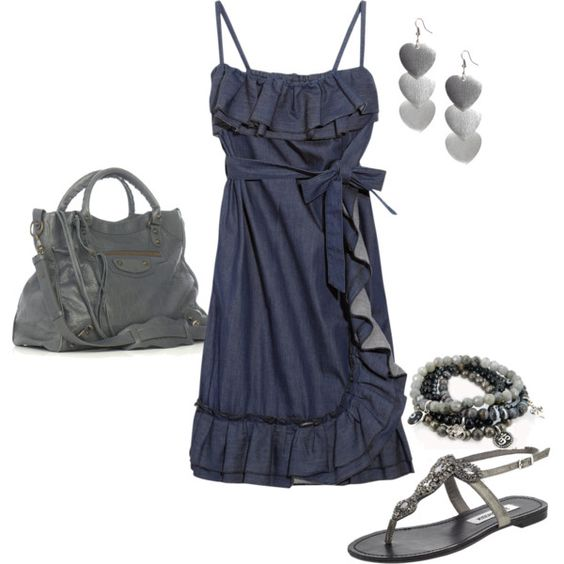 Love this dress and shoes!
