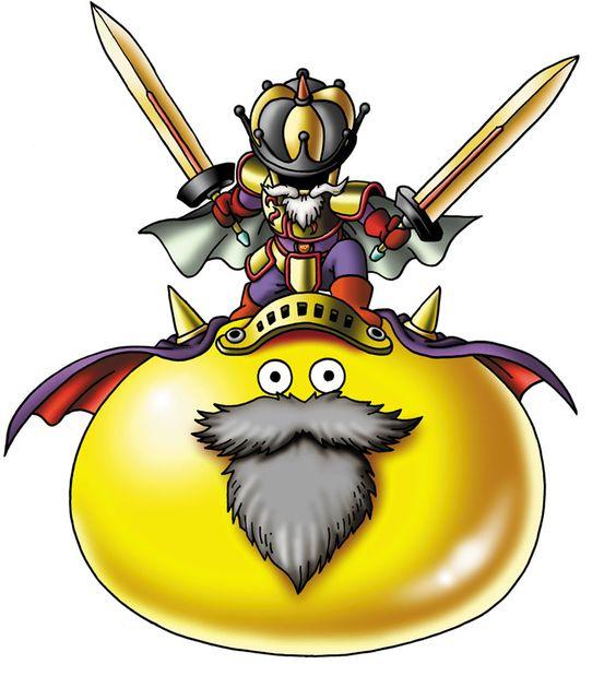 Prime Slime Characters Art Dragon Quest Ix Dragon Quest Dragon Warrior Monster Design