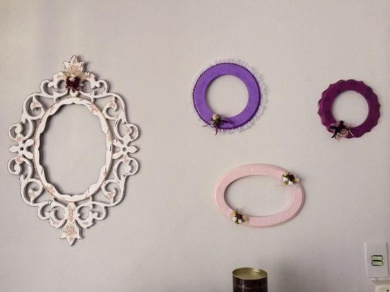 Molduras para espelhos,para compor com a comoda restaurada