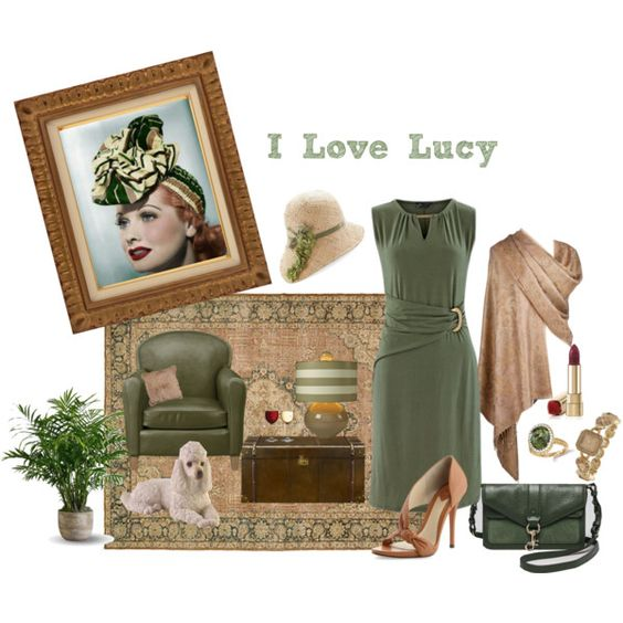 I love lucy collection 006 by cmhowson on polyvore i I love lucy living room set