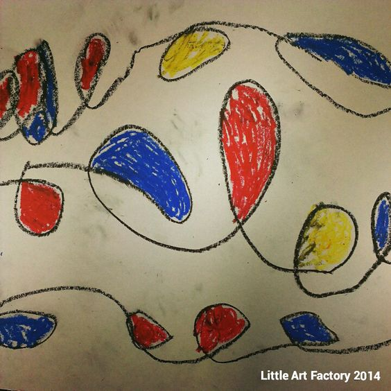 Alexander Calder - First Grade Project - Color Theory