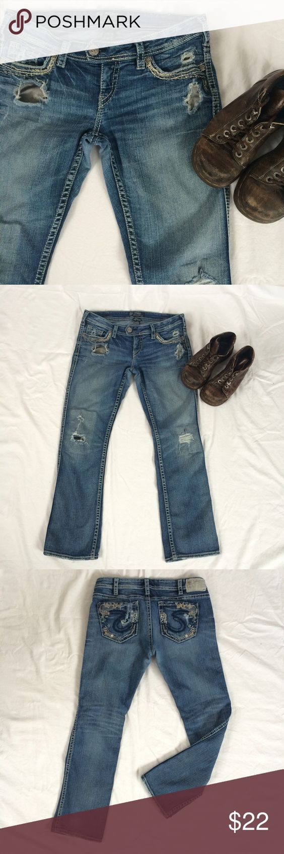 Women's Silver Jeans Size 31/31 | D, Babies and Boots
