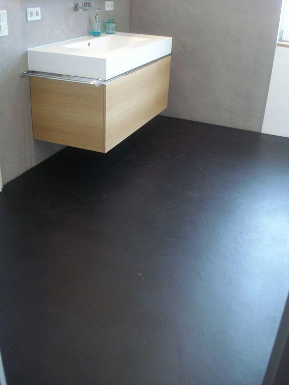 fugenloser boden in marmorm rtel. Black Bedroom Furniture Sets. Home Design Ideas