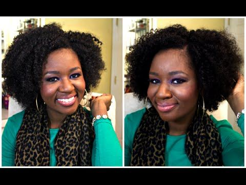 Beshe Drew Wig Review #naturalhair #protectivestyle kinky curly hair