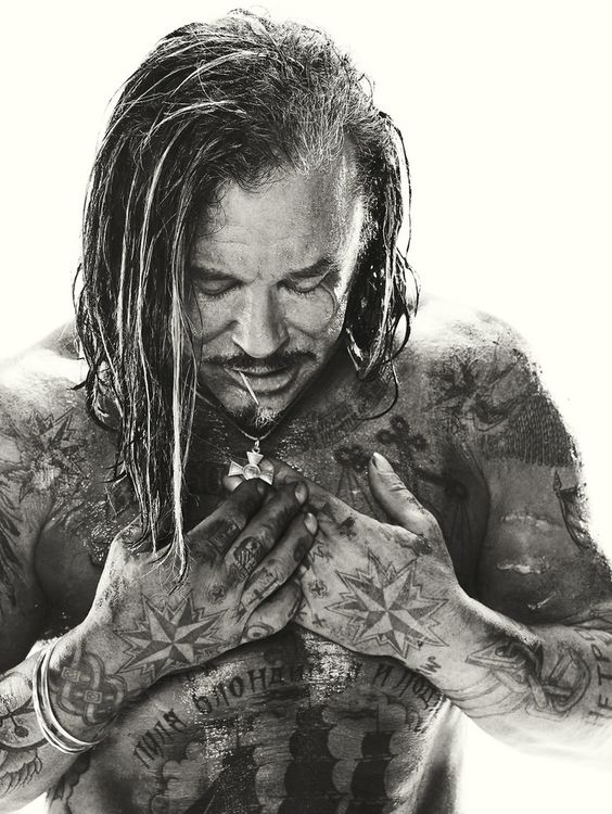Mickey Rourke by Michael Muller