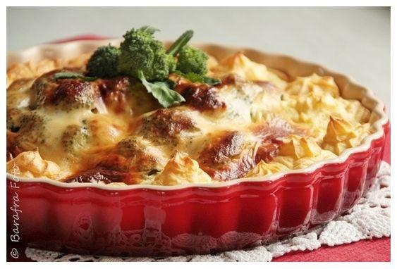 Barafras Kochlöffel: Kartoffelpüree-Brokkoli-Auflauf