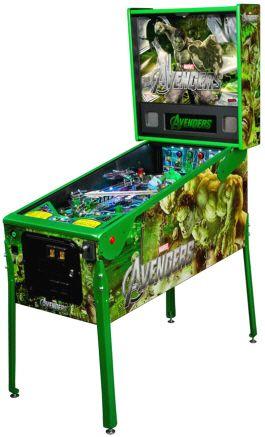 Avenger HULK Limited Edition / LE Pinball Machine From Stern Pinball  my sons love the Hulk. I love pinball