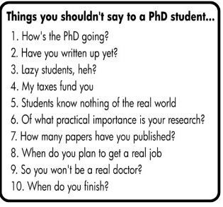 What is an PHD student ?