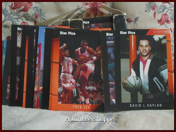 STAR PICS Basketball Pro Prospects 1991 72 Card Set Damaged Box   Junk0866  http://ajunkeeshoppe.blogspot.com/