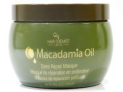 HAIR CHEMIST MACADAMIA OIL DEEP REPAIR MASQUE 8 oz.