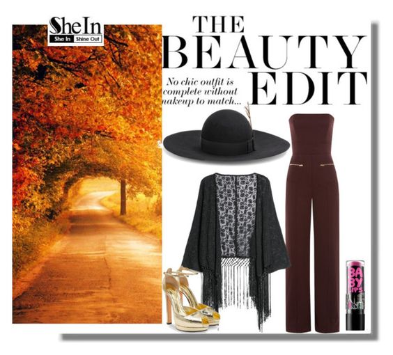 """Sem título #9391"" by nathsouzaz ❤ liked on Polyvore featuring Yves Saint Laurent, Maison Margiela, MANGO, Maybelline and Alexander McQueen"