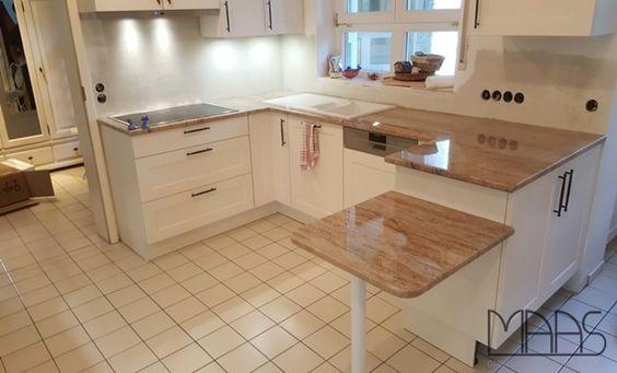 Gestalten Sie Ihre Küche mit wunderschöner Glasrückwand und einer - küchenarbeitsplatten granit preise