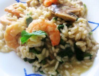 Cozinha com a Anna: Risoto de Camarão e Cogumelos (Trilogia 116)