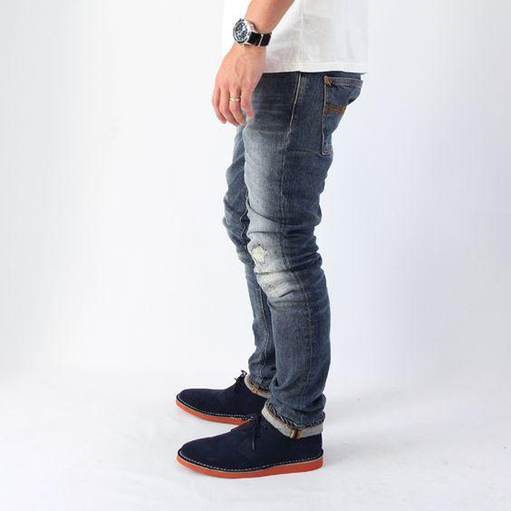 【楽天市場】【Safari Leon SENSE掲載ブランド】【送料・代引き料無料】Nudie Jeans(ヌーディージーンズ)/THIN FINN(シンフィン)【ORG.ALLEN REPLICA】(37161-1317):HELLOS