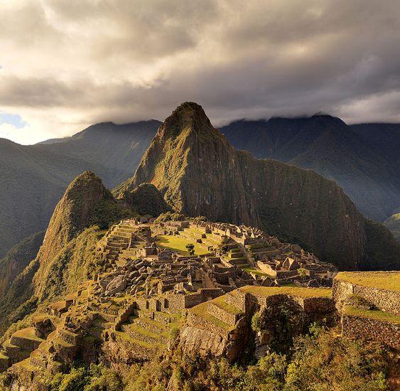 80 - Machu Picchu - The Macchu Picchu, a UNESCO World Heritage Site near Cusco in Peru,