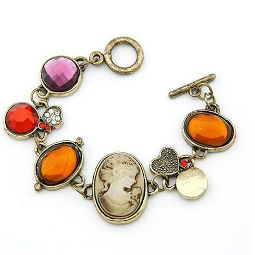Christmas gift classical alloy with rhineshone bracelet beautfy your life