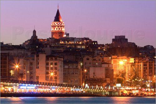 "Bild von Jan Schuler - ""Galataturm, Istanbul"""