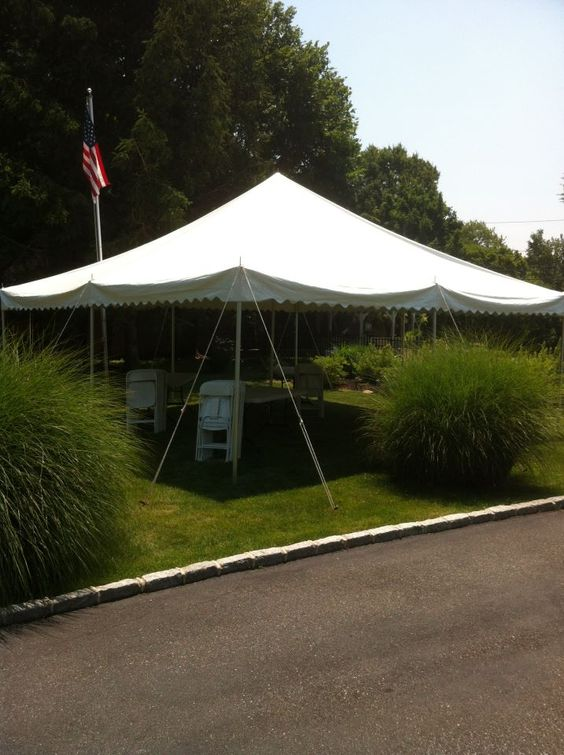 20x20 White Pole Tent for 40 ppl on 4th of July! - Call us @ Avenue Party Rentals - 631-484-4977 Serving All of Long Island NY | OUR PARTY TENTS ... & 20x20 White Pole Tent for 40 ppl on 4th of July! - Call us ...