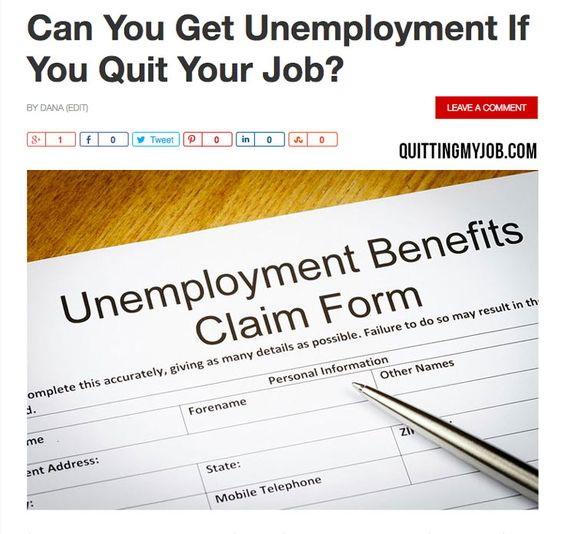 Read my latest #BlogPost 👉 Can You Get Unemployment If You Quit - when to quit your internship