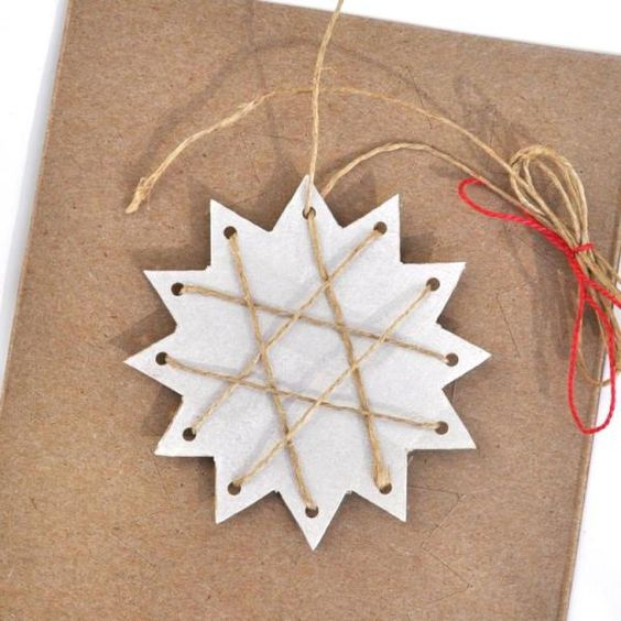 I've created a few new paper Christmas tree decorations this year and just now these cute and easy stars are my favorite! These are 12-point stars, but it's just as easy to make 10-poin…
